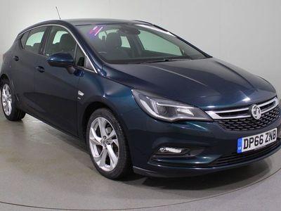 used Vauxhall Astra 1.4i Turbo SRi 5dr Hatchback 2016