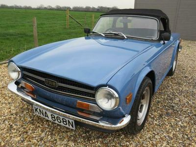 used Triumph TR6 (N) WITH OVERDRIVE 2-Door