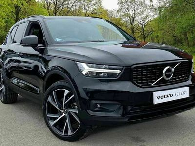 used Volvo XC40 - D4 AWD R-Design Pro Automatic (LED Headlights, 20' Alloys, Active Bending Lights, Front & Rear Mud Flaps)