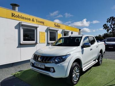 used Mitsubishi L200 2.4 DI-D 4WD WARRIOR DCB 178 BHP, 2017, not known, 44856 miles.