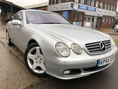 used Mercedes CL500 CL 5.0Coupe 2dr Petrol Automatic (270 g/km, 302 bhp)