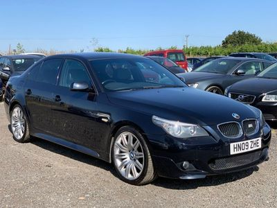 used BMW 520 5 Series 2.0 d M Sport 4dr