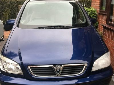 used Vauxhall Zafira 2.2 i 16v Elegance 5dr