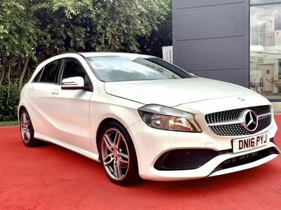 used Mercedes A200 A-Class 2.1dAMG Line (136ps) (s/s)