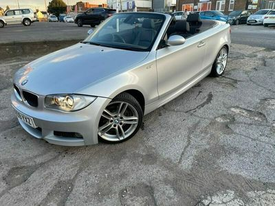 used BMW 120 Cabriolet 120d M Sport 2dr Step Auto