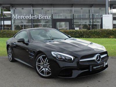used Mercedes SL500 SlAMG Line Premium 2dr 9G-Tronic convertible