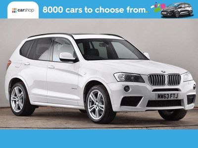 used BMW X3 xDrive35d M Sport 5dr Step Auto Leather Seats 3.0