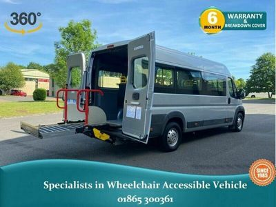 used Peugeot Boxer HDI 440 L4H2 WAV Wheelchair Accessible HV63VOG