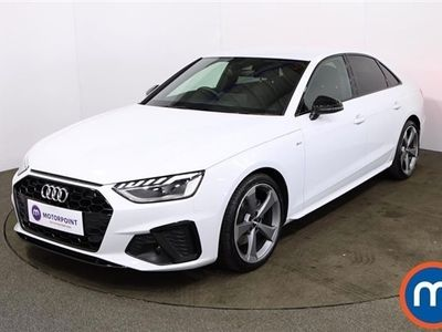 used Audi A4 35 TDI Black Edition 4dr S Tronic 2.0