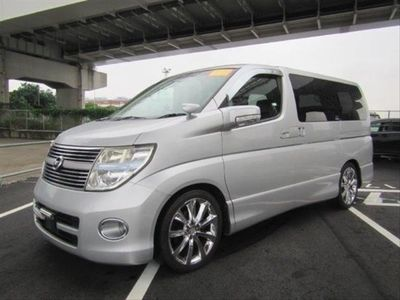 used Nissan Elgrand 2.5 Highway Star - RESERVED, Black Leather - Twin Power Doors - High Grade - On Route