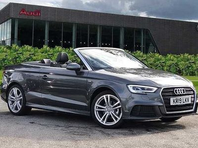 used Audi A3 Cabriolet S line 35 TFSI 150 PS 6-speed