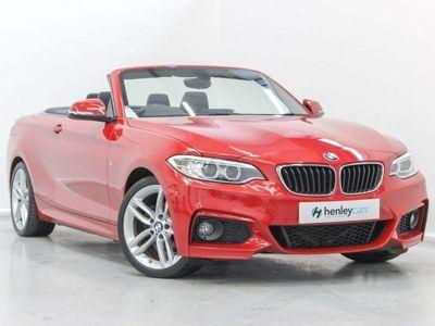 used BMW 218 2 SERIES 2.0 D M SPORT 2d 148 BHP