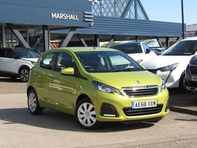 used Peugeot 108 2018 Peterborough 1.0 72 Active 5dr