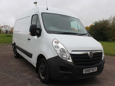 used Vauxhall Movano 2.3 CDTi 3500 FWD L2 H2 EU6 5dr