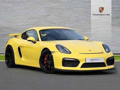 used Porsche Cayman 3.8 GT4 2dr Coupe