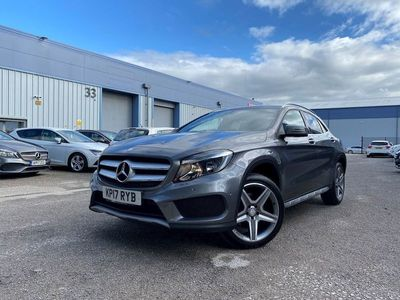 used Mercedes GLA200 Gla Class 2.1AMG Line (Executive) SUV 5dr Diesel 7G-DCT 4MATIC (s/s) (130 g/km, 174 bhp)