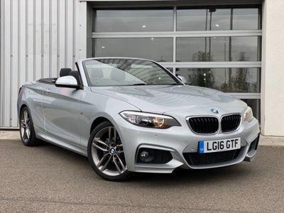 used BMW 218 2 Series i M Sport 2dr