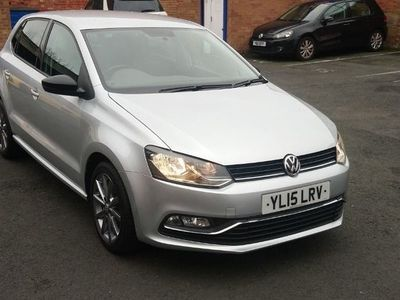 used VW Polo 1.2 TSI BlueMotion Tech SE Design (s/s) 5dr
