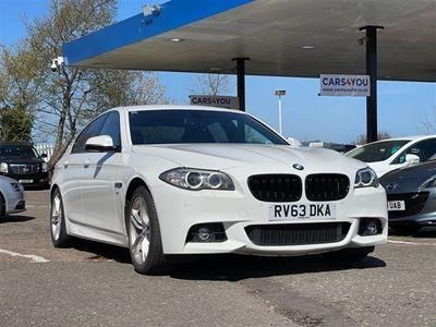 used BMW 518 5 Series 2.0 D M SPORT 4d 141 BHP Saloon 2013