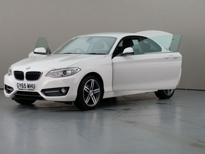 used BMW 218