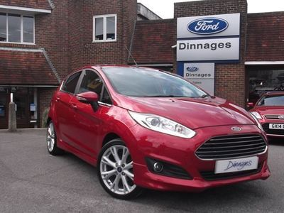 used Ford Fiesta TITANIUM X 1.0T ECOBOOST 125PS 5DR