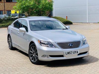 used Lexus LS600h 5.0 CVT 4dr (High)