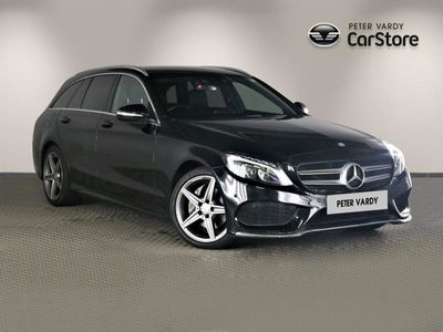 used Mercedes C220 C ClassBlueTEC AMG Line 5dr Auto 2015