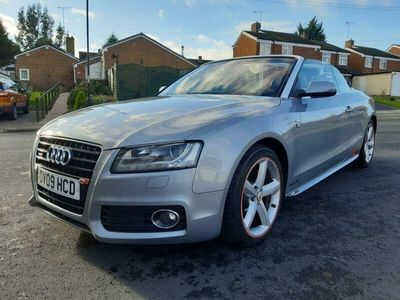used Audi A5 Cabriolet 3.0 TDI Quattro S Line 2dr S Tronic