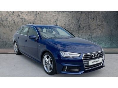 used Audi A4 2.0 TDI S Line 5dr S Tronic [Leather/Alc/Tech] Diesel Estate