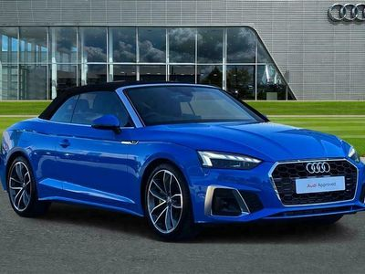 used Audi A5 Cabriolet S line 40 TFSI 204 PS S tronic