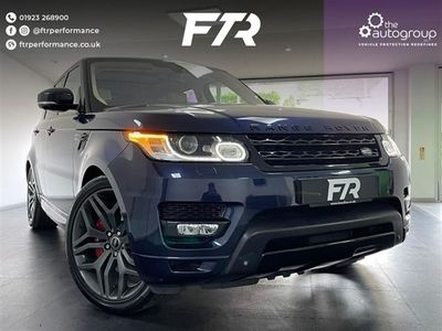 used Land Rover Range Rover Sport 5.0 V8 AUTOBIOGRAPHY DYNAMIC 5d 510 BHP