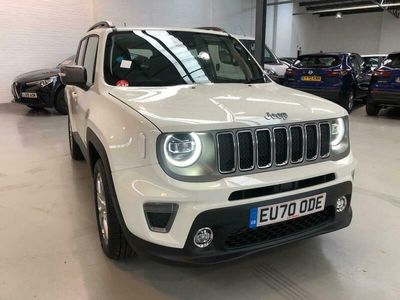 used Jeep Renegade 1.3 Turbo 4xe PHEV 190 Limited 5dr Auto