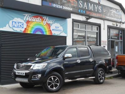 used Toyota HiLux 3.0 D-4D Invincible X Double Cab Pickup 4dr