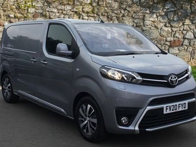 used Toyota Proace Medium Diesel 2.0D 180 Design Van [TSS] Auto