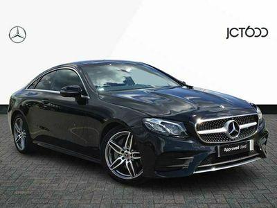 used Mercedes E300 E ClassAMG Line Premium 2dr 9G-Tronic diesel coupe