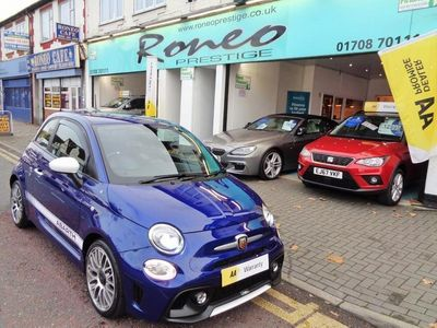 used Abarth 595 ASCARI TUNED 180 BHP, FINISHED IN PODIUM BLUE, SPECIAL CAR !