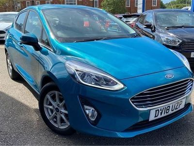used Ford Fiesta 1.0 Ecoboost Zetec 5Dr Auto