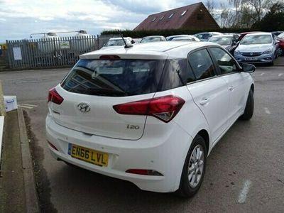 used Hyundai i20 1.2 MPI SE [£30 TAX] Petrol 5 Dr