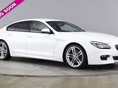 used BMW 640 6 Series 3.0 D M SPORT GRAN COUPE 4d AUTO 309 BHP, 2016 ( )