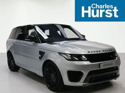 used Land Rover Range Rover Sport ESTATE 5.0 V8 S/C SVR 5dr Auto