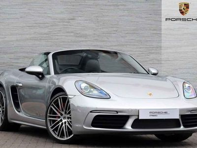 used Porsche 718 Boxster S 2.5 2dr
