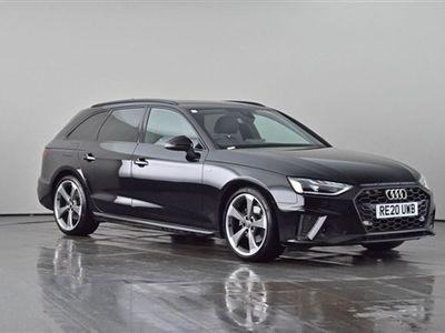 used Audi A4 35 TFSi AVANT BLACK EDITION 5d 148 BHP