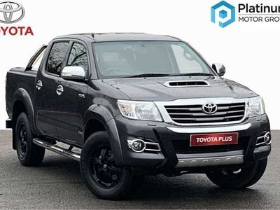 used Toyota HiLux Invincible X D/Cab Pick Up 3.0 D-4D 4Wd 171 Auto pickup 2016