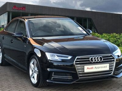 used Audi A4 2.0T FSI S Line 4dr