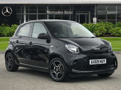 used Smart ForFour 60kW EQ Pulse Premium 17kWh 5dr Auto [22kWch]