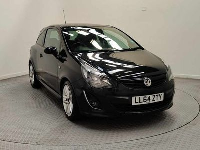 used Vauxhall Corsa 1.4T Black Edition 3Dr