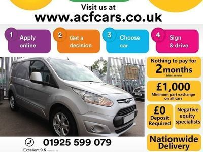 used Ford Transit Connect 200 LIMITED P/V - CAR FINANCE FR £42 PW, 2014 (64)