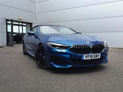 used BMW 840 8 SERIES DIESEL CONVERTIBLE d xDrive 2dr Auto 2019/19