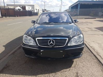 used Mercedes S55 AMG S Class 5.4AMG L 4dr