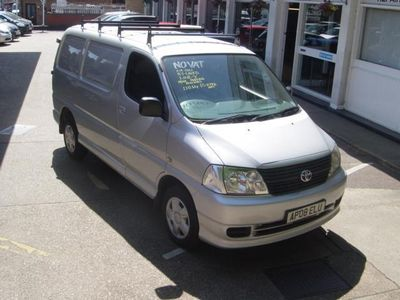 used Toyota HiAce 280 Van 2.5 D-4D 120hp, 2008 (08)